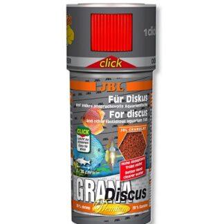 Премиум храна на гранули JBL GRANADISCUS CLICK за дискуси (с дозатор), 250 ml