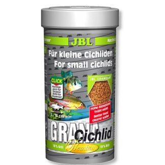 Премиум храна на гранули JBL GRANA CICHLID за месоядни цихлиди, 250 ml