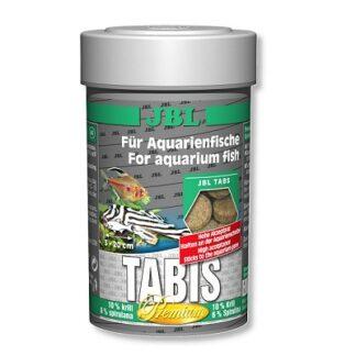 Премиум храна на таблетки JBL TABIS обогатена с крил и спирулина, 100 ml