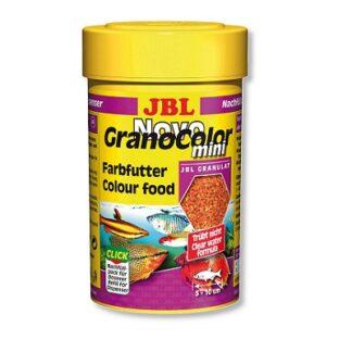 Храна на гранули JBL NOVOGRANOCOLOR MINI за подсилване на цветовете на малки рибки, 100 ml
