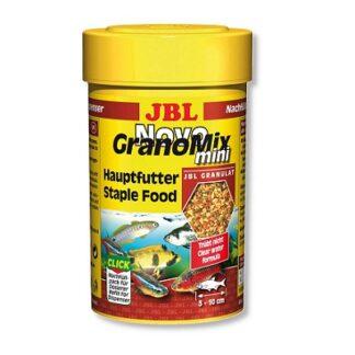 Храна на гранули JBL NOVOGRANOMIX MINI за сладководни малки риби, 100 ml