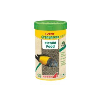 Храна на гранули SERA GRANUGREEN NATURE за цихлиди, 20 g