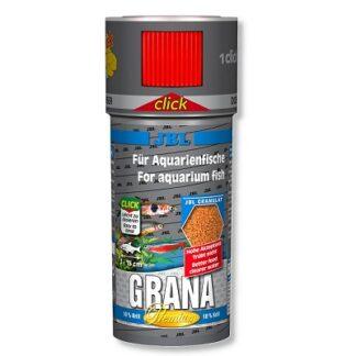 Премиум храна на гранули JBL GRANA CLICK за малки рибки (с дозатор), 100 ml