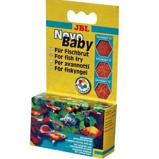 Комплект за хранене за подрастващи рибки JBL NOVOBABY, 3x10 ml