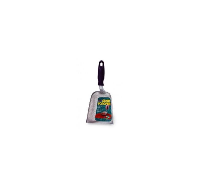 Метална лопатка за почистване на пясък за влечуги