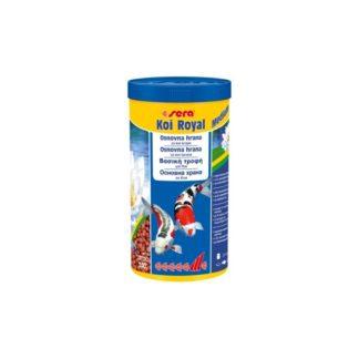 Храна за кои до 25 cm SERA KOI ROYAL MEDIUM, 1000 ml