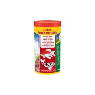 Оцветяваща храна SERA POND COLOR STICKS, 1000 ml