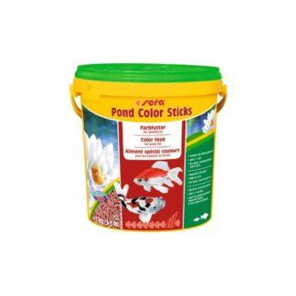 Оцветяваща храна SERA POND COLOR STICKS, 10000 ml