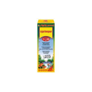 Препарат срещу бактерии и паразити SERA POND CYPRINOPUR, 500 ml