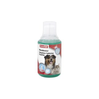 Вода за уста BEAPHAR MOUTH WASH за кучета и котки, 250 ml