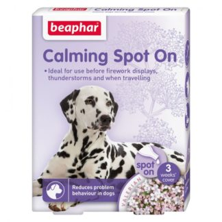 Успокояващи пипети за кучета Beaphar Calming Spot On, 3 бр