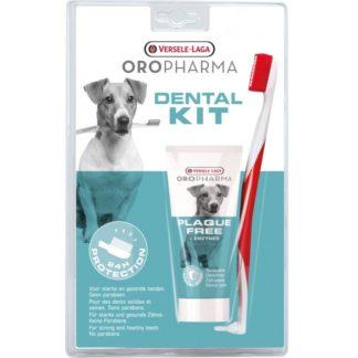 Комплект паста за зъби и четка OROPHARMA PLAQUE FREE DENTAL KIT