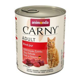 Консерва ANIMONDA CARNY ADULT PURE BEEF котки над 1 год, 800 g