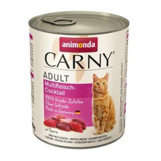 Консерва ANIMONDA CARNY ADULT MULTI MEAT COCKTAIL котки над 1 год, 800 g