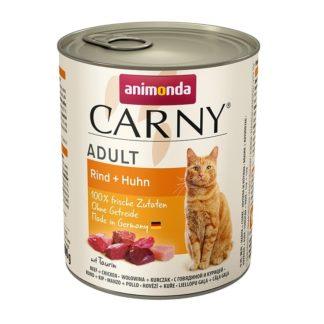 Консерва ANIMONDA CARNY ADULT BEEF AND CHICKEN котки над 1 год, 800 g