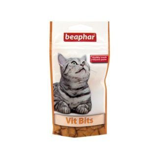 Лакомство за котки BEAPHAR VIT BITS мултивитамини, 35 g