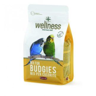 Wellness Премиум храна за вълнисти папагали 1kg.
