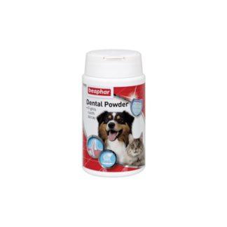Дентална пудра за грижа за зъбите на котки и кучета от Beaphar, Холандия