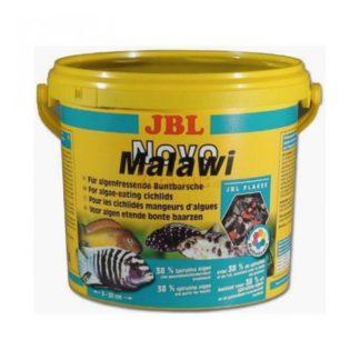 JBL NovoMalawi - Храна за растителноядни африк.цихлиди от езерата Малави и Танганайка - люспи 5.5 ll