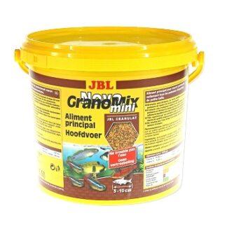 Храна на гранули JBL NOVOGRANOMIX MINI за сладководни малки риби, 5500 ml