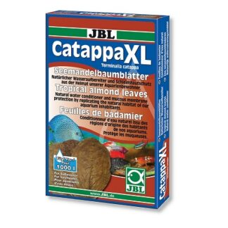 Листа от тропически бадем JBL CATAPPA XL, естествен стабилизатор на водата, 10 бр