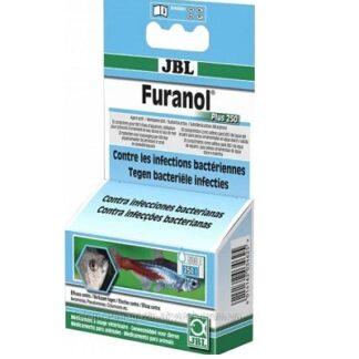 Препарат срещу външни и вътрешни бактериални инфекции JBL FURANOL PLUS 250, 20 таблетки