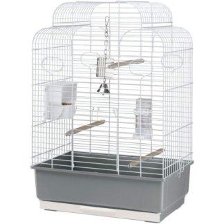 Клетка за птици FERPLAST CAGE GALA WHITE, 50х30х75,5 см