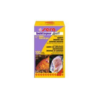 Препарат срещу бактериални инфекции SERA BAKTOPUR DIRECT, 100 таблетки