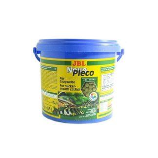 JBL NovoPleco - Чипс от водорасли за сомчета, съдържащ дъвесина - таблетки 5.5 l