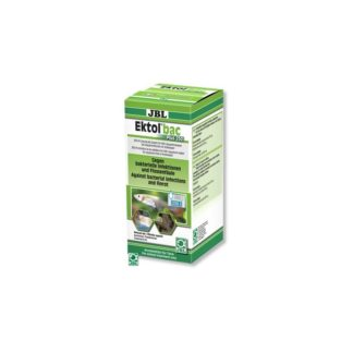 JBL Ektol bac Plus 250 - срещу бактериални инфекции, причинени от Aeromonas, Pseudomonas, Columnaris и др.200 ml