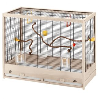 Дървена клетка за птици FERPLAST CAGE GIULIETTA 5, 69х34,5х58 см