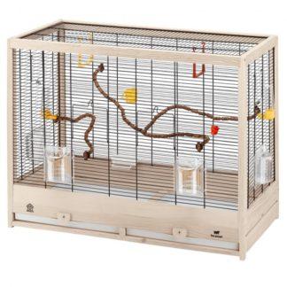 Дървена клетка за птици FERPLAST CAGE GIULIETTA 6, 81х41х64 см