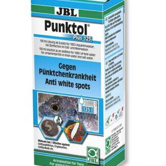 """Препарат срещу """"бели точки"""" и други ектопаразити JBL PUNKTOL PLUS 125, 100 ml"""