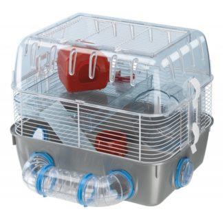 Оборудвана клетка за хамстери FERPLAST CAGE COMBI 1 FUN, 40,5x29,5x32,5 cm