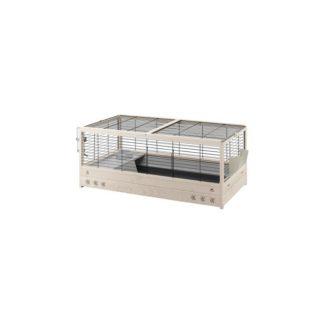 Оборудвана клетка за зайци и морски свинчета FERPLAST CAGE ARENA 100 BLACK, 100x62,5x51см