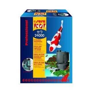 Eзерен филтър SERA KOI 24000 PROFESSIONAL до 24000 l с 2 помпи РР 12000