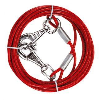 Стоманено въже с пластмасово покритие Ferplast PA 5985, 300 см