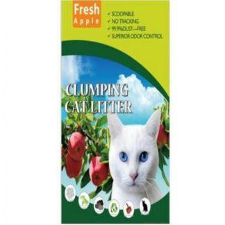 Perfect cat - тоалетна за котки от калиброван бентонит с аромат на ябълка 5 литра