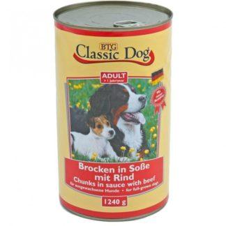 Classic Dog Консерва 1240гр. говеждо