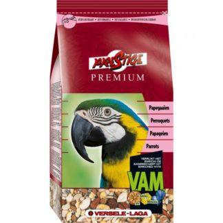 Versele Laga Premium Prestige Parrot - пълноценна храна за големи папагали 1 кг.