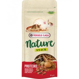 Лакомство VERSELE LAGA NATURE SNACK PROTEINS с животински протеини за порчета, мишки и хамстери, 85 g