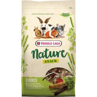 Допълваща храна за гризачи VERSELE LAGA NATURE SNACK FIBRES с фибри, 500 g