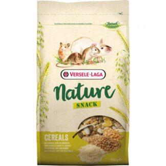 Допълваща храна за гризачи VERSELE LAGA NATURE SNACK CEREALS с ядки и семена, 500 g