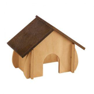 Дървена къща за гризачи Ferplast SIN 4648
