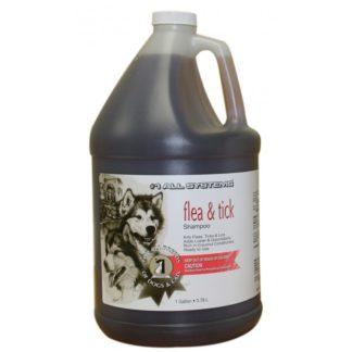 Шампоан 1 ALL SYSTEMS NATURAL FLEA & TICK против бълхи и кърлежи (A3900), 3780 ml