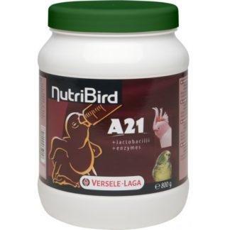 Смес за ръчно хранене на бебета средни и големи папгали VERSELE LAGA NUTRIBIRD A21, 800 g