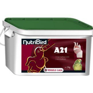 Смес за ръчно хранене на бебета средни и големи папгали VERSELE LAGA NUTRIBIRD A21, 3 kg