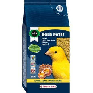 Мека яйчна храна за жълти канари VERSELE LAGA OROLUX GOLD PATEE YELLOW CANARIES, 250 g