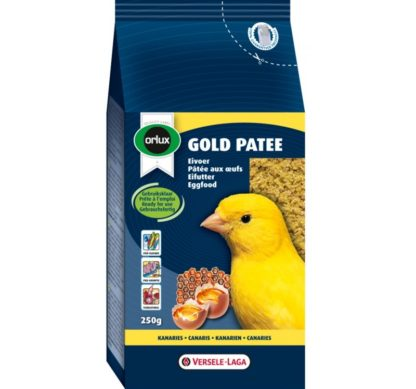 Мека яйчна храна за жълти канари VERSELE LAGA OROLUX GOLD PATEE YELLOW CANARIES, 1 kg