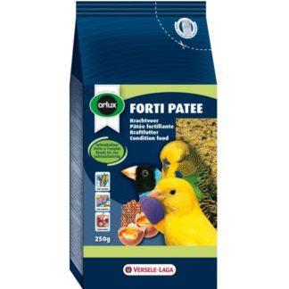 Енергийна храна за канари, финки, вълнисти и др. папагали VERSELE LAGA OROLUX FORTI PATEE с мед, 250 g